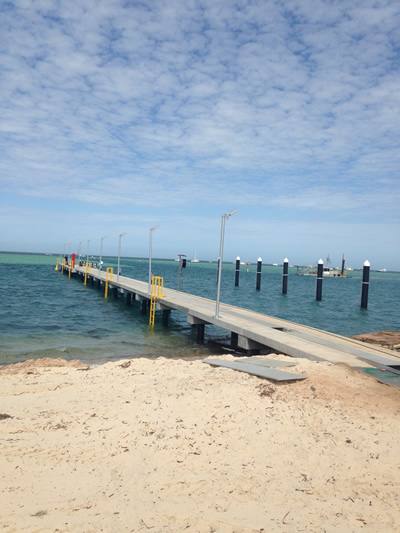 New recreational jetty