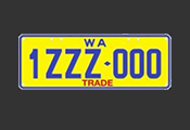 Trade series plate