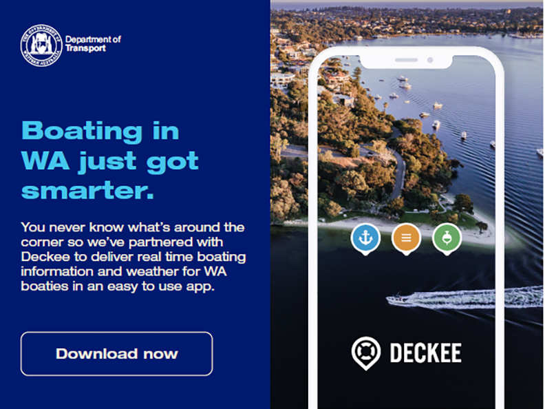 Boating in WA just got smarter. Download Deckee app